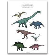 Dinosaurs Poster 30x40