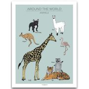 Poster Animals Mint