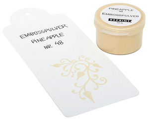 Embosspulver Pineapple nr 48
