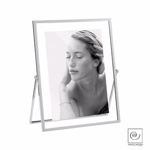 Mascagni Metal Frame Double Glass Silver 13x18