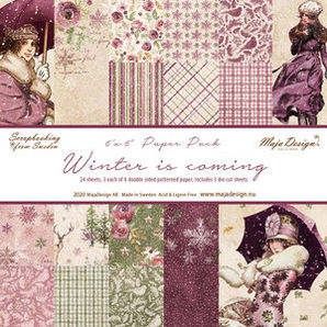 "Maja Design Winter is coming 6""x6"" Paper Pack"